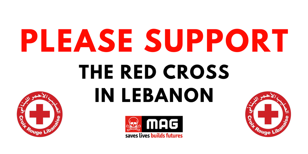 Please support the Lebanese Red Cross